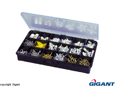 Assortment box transparent Raaco