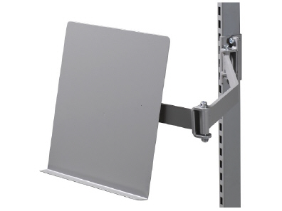 Document Holder for Assembly on Pivoted Arm