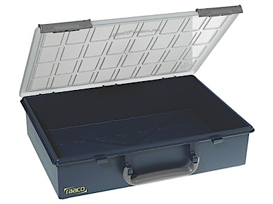 Storage box of PP height 78 Raaco