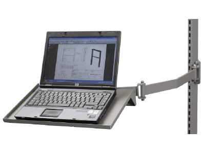 Laptop shelf