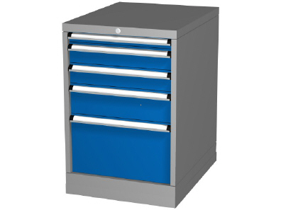 Drawer Storage Cabinet, Height 850mm, 4 - 5 Drawers