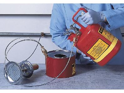 Safety Cans of Heavy Duty Polyethylene