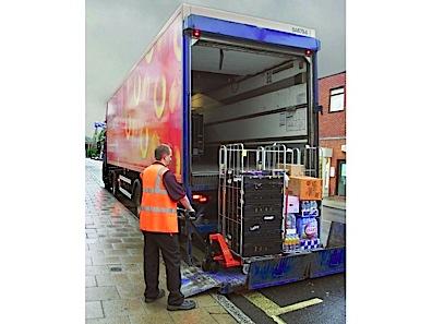 Hand pallet truck BT Lifter Silent