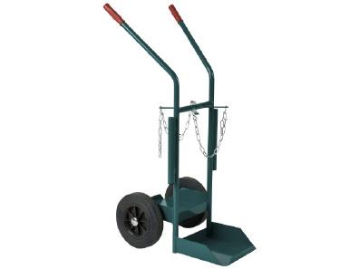Gas cylinder barrow