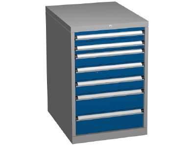 Drawer Storage Cabinet, Height 850mm, 5 - 7 Drawers