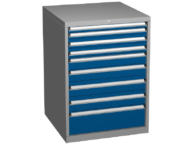 Drawer Storage Cabinets, 9 Drawer Combinations with 1000mm Heights