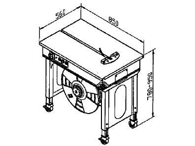 Strapping machine Semi-automatic