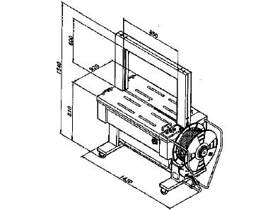Automatic strapping machine