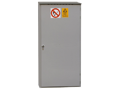 Outdoor gas cabinet