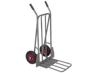 Sack Barrow with Folding Loading Platform