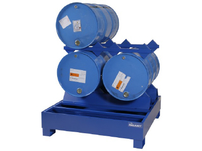 Environmental protection pallets for drum handling 310 l