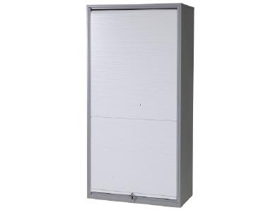 Tool cabinet with roller door