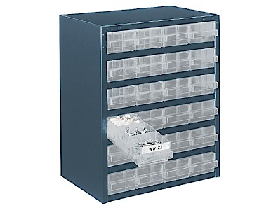 Storage cabinets height 435 mm Raaco