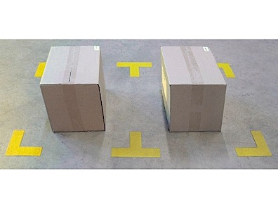 Floor marking Dura Stripe Corner and T-corner