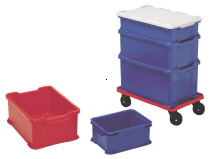 Transport Boxes of HD-polythene