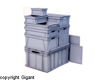 Transport Boxes of HD-Polythene/Polypropylene