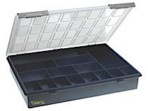 Storage box of PP height 57 Raaco