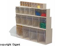 Storage box crystal clear width 600