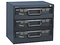 Storage box of enamelled steel for Carry-Lite Raaco