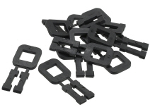 Plastic clips for PP strap