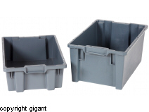 Nestable and Stackable Bins, Large