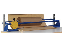 Guillotine unit for packing tables