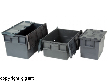 Transport Box in Recycled Polypropylene