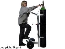 Gas cylinder barrow ergonomic