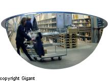 Dome mirrors, 360°
