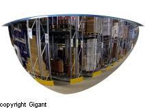 Dome mirrors, 180°