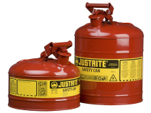 Safety Cans with Polypropylene Funnel