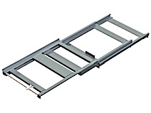 Beam Mounted Pull Out Shelf, Max. Load 300-600kg