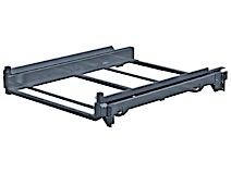 End mounted shelf