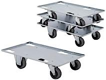 Push-cart for bins