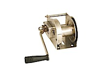 Stainless steel manual winches Goliath