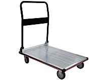 Platform Trolley in Aluminium
