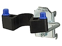 Double hook, rubber clip